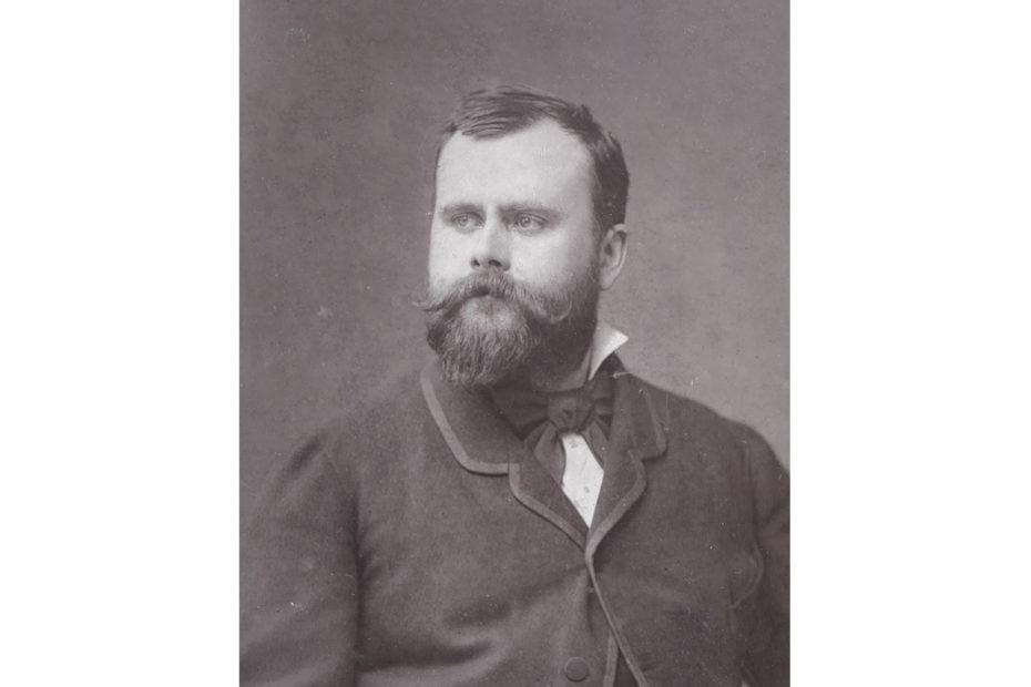 Portrait de l'artiste français Albert Maignan