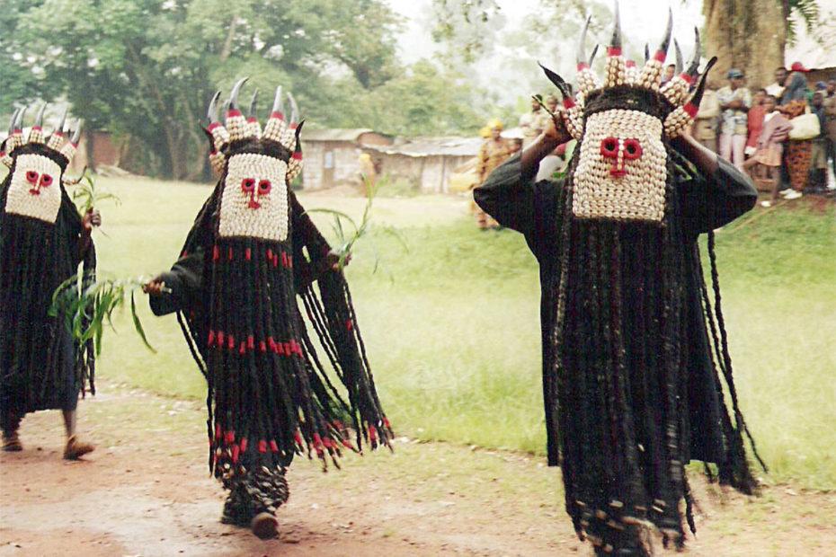 Peuple Bamiléké d'Afrique centrale du Cameroun