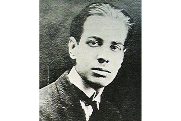 portrait de l'écrivain Jorge Luis Borges
