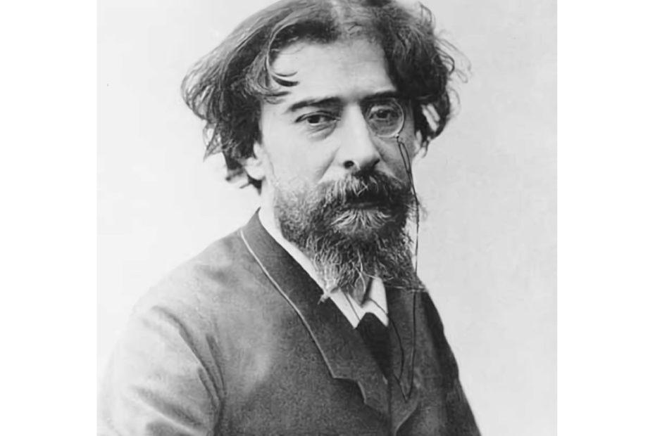 Portrait de l'écrivain Alphonse Daudet