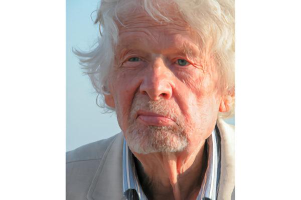 Portrait de l'anthropologue Jack Goody