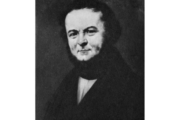 Portrait de l'écrivain Stendhal