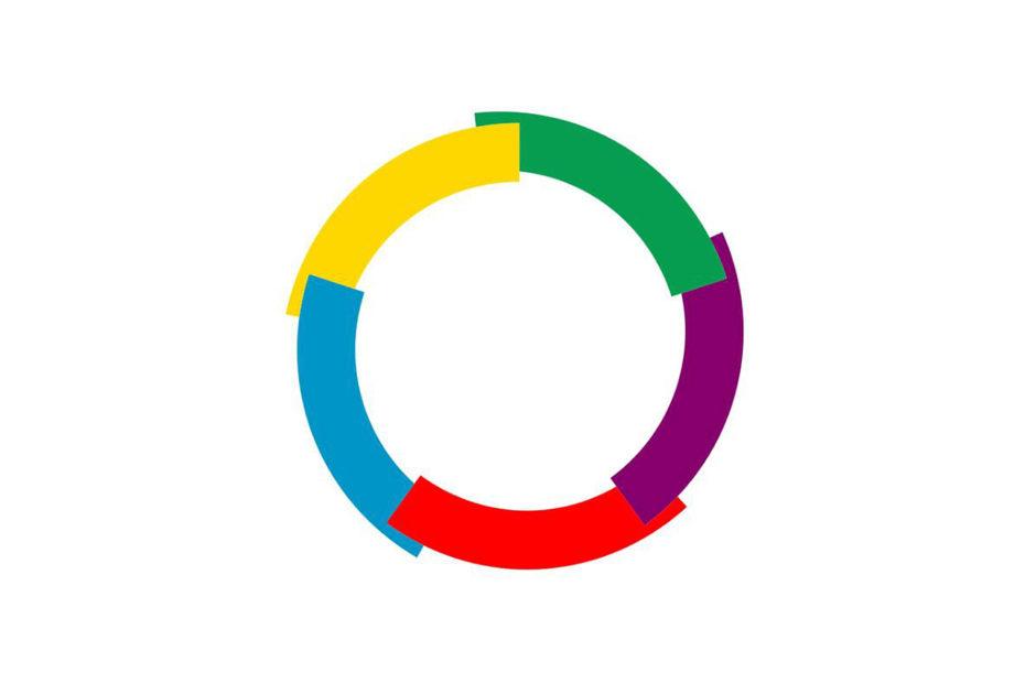 Symbole de la francophonie représentant la langue française dans le monde