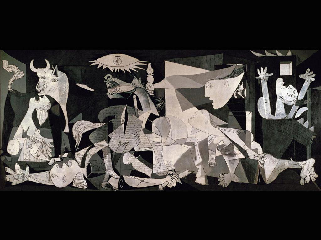 Tableau Guernica de Picasso en 1937