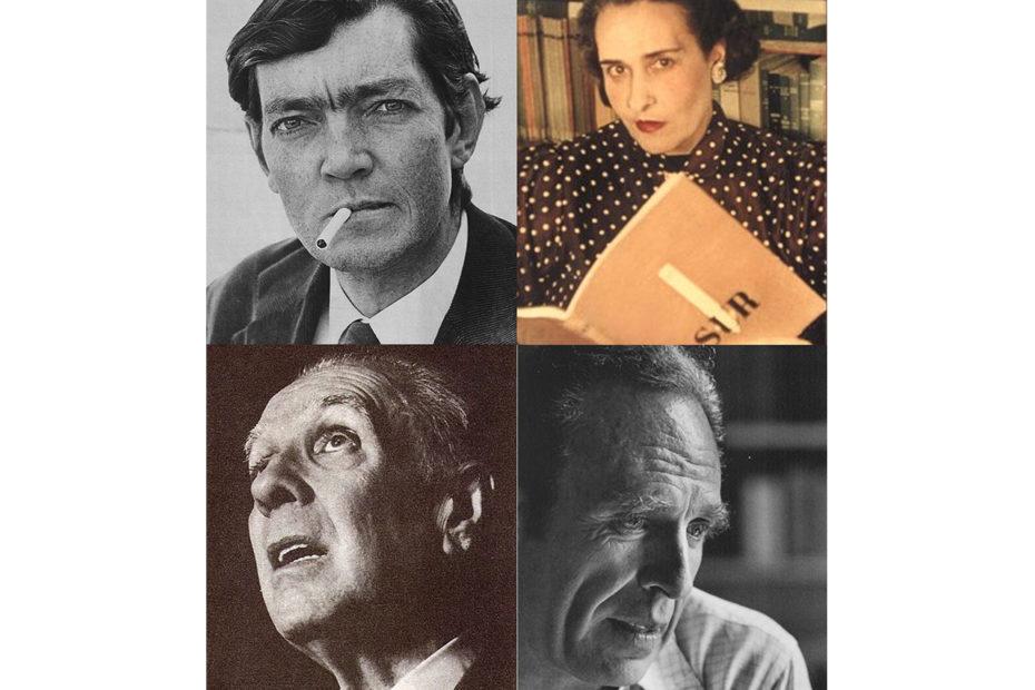 Portraits écrivains argentins célèbres