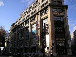 Photographie du siège du Figaro à Paris