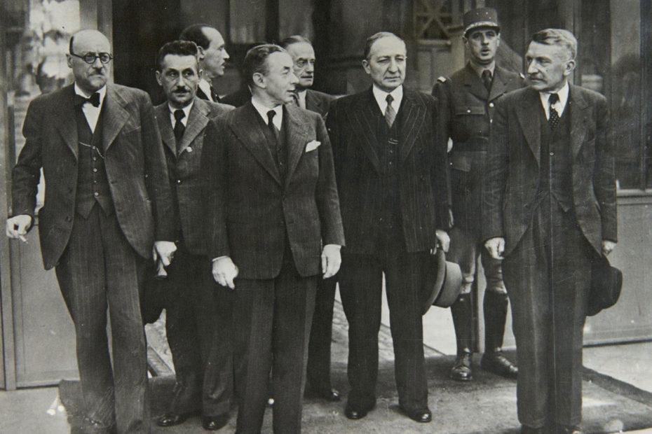 Portrait officiel du gouvernement de Paul Reynaud