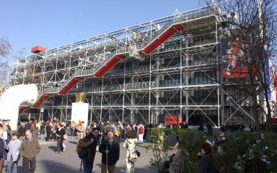 Photographie du Centre vu du haut de la piazza