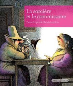 couverture du livre La sorcière et le commissaire