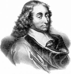 portrait de Pascal, gravure