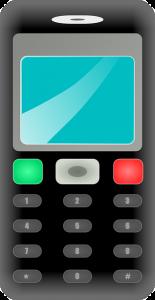 dessin de téléphone mobile