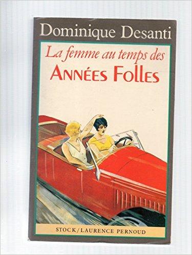couverture du livre La femme au temps des Années Folles