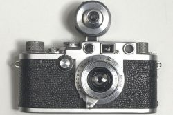 Leica IIIf de 1952 avec son viseur additionnel