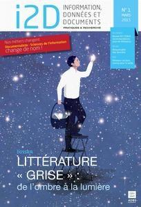 couverture de I2D, numéro sur la littérature grise