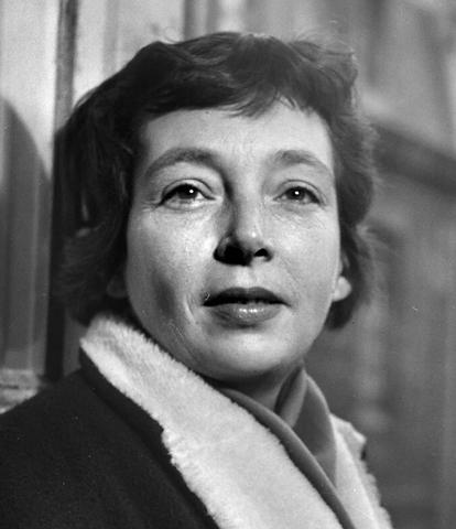 Portrait photographique de Margerite Duras en 1955