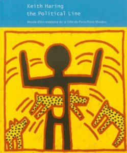 couverture du catalogue Keith Haring The political line