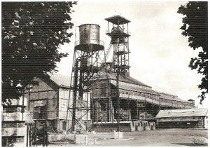 photographie des mines de l'Escarpelle