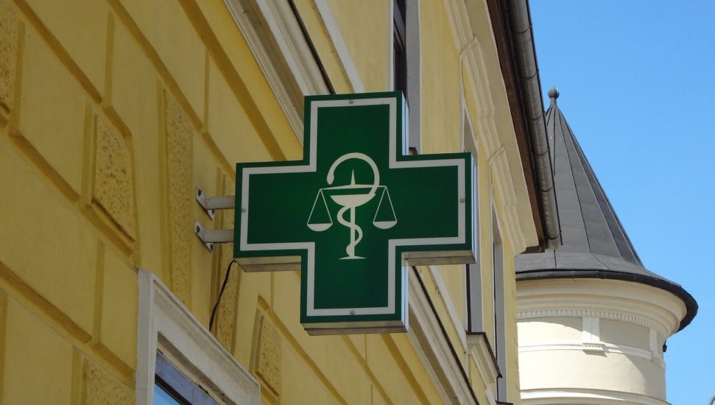 Logo symbolisant les pharmacies