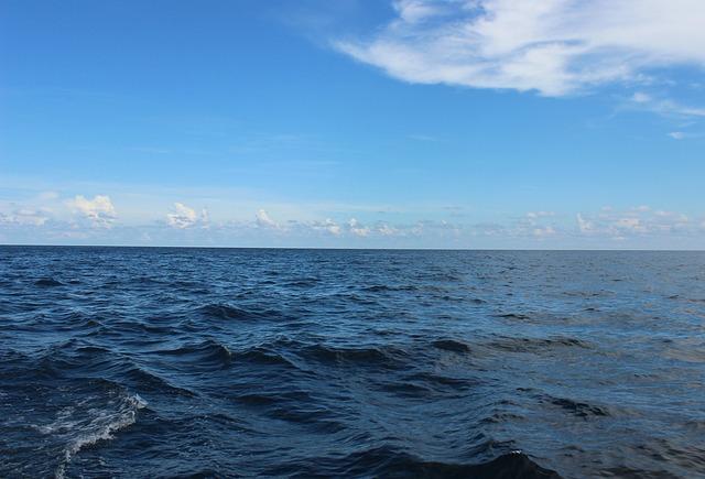 photographie de l'océan