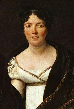 Portrait de Marie Angélique Mongez par Jacques-Louis David