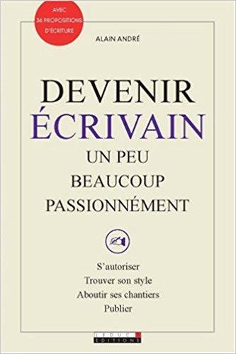 couverture du livre Devenir écrivain