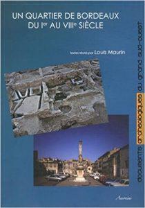 couverture du livre Un quartier de Bordeaux du I au VIIIe siècle