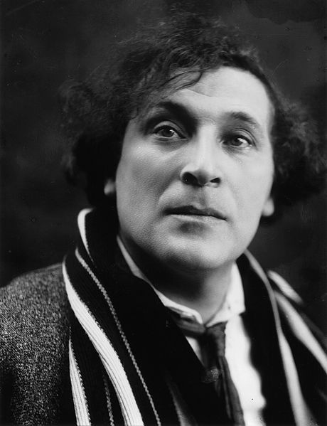portrait de Chagall