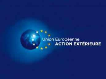 logo action extérieure de l'Union européenne