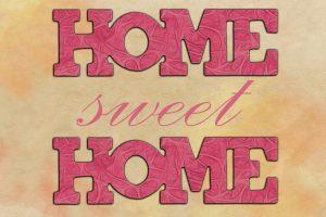 pancarte Home sweet home