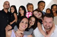 familles de toutes les couleurs