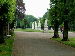 jardin du palais Benrath (Allemagne)