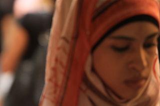 photographie de femme voilée