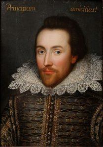portrait de Shakespeare