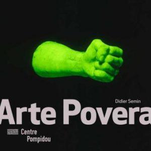 couverture du livre Arte povera Centre Pompidou