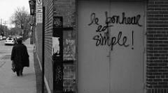 Tag de rue : le bonheur est simple