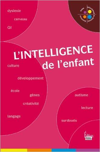couverture de L'intelligence de l'enfant