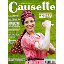 couverture du magazine Causette