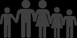 dessin schématique d'une famille