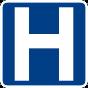 Logo H pour Hôpital