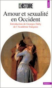 couverture du livre Amour et sexualité en Occident