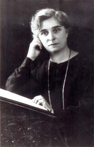 Portrait photographique de Maria Verone