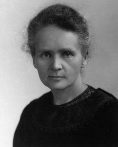 Portrait photographique de Marie Curie en 1900