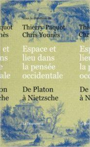 couverture du livre Espace et lieu dans la pensée occidentale