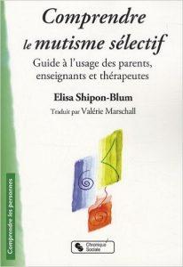 couverture du livre Comprendre le mutisme sélectif