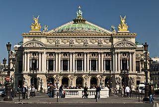 photographie de l'Opéra Garnier