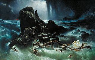 Tableau Le Déluge de Francis Danby