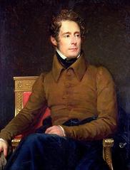 Portrait de Lamartine par François Gérard