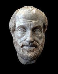 buste d'Aristote en marbre