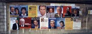 affiches de la campagne présidentielle 2002 1er tour