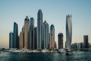 Photographie de buildings de Dubaï